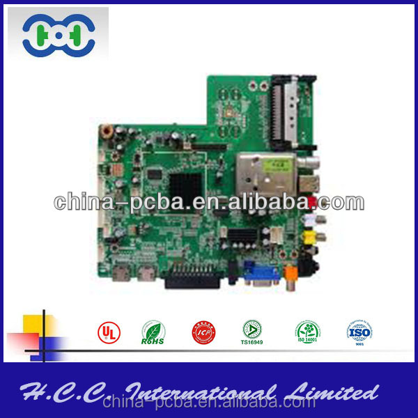 led pcb board with lcd tv main board
