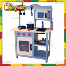 2016 wholesale children wooden kitchen toy,DIY baby wooden kitchen toy,fashion kids wooden kitchen toy W10C045