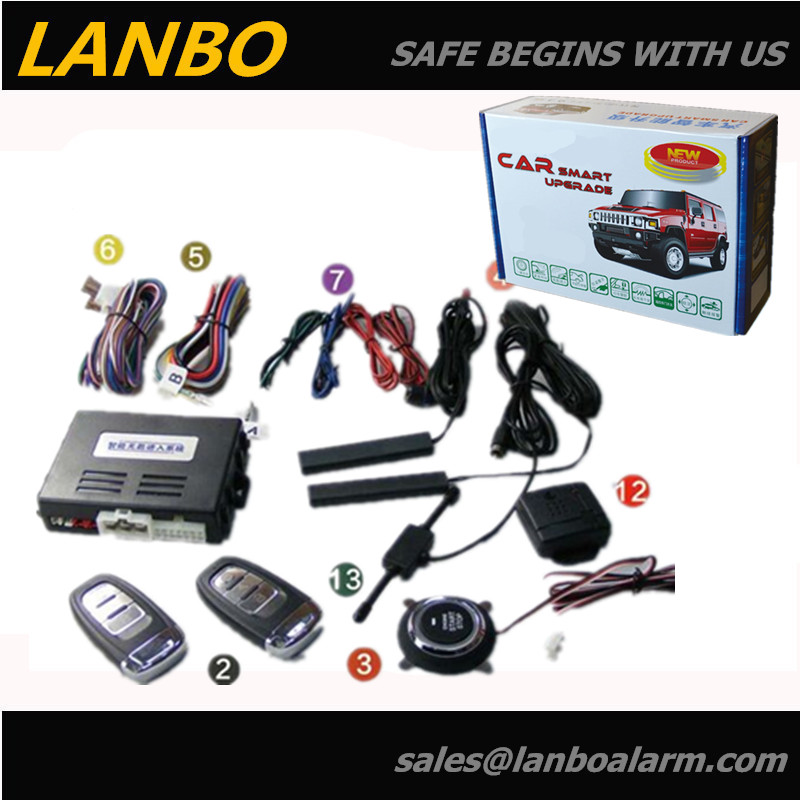 Passive Keyless Entry PKE Push Button Engine Start/Stop Button Systems