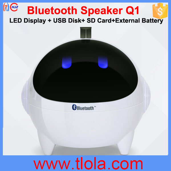 Spaceman Shape Cartoon Speaker with Bluetooth Function Optional <strong>Q1</strong>