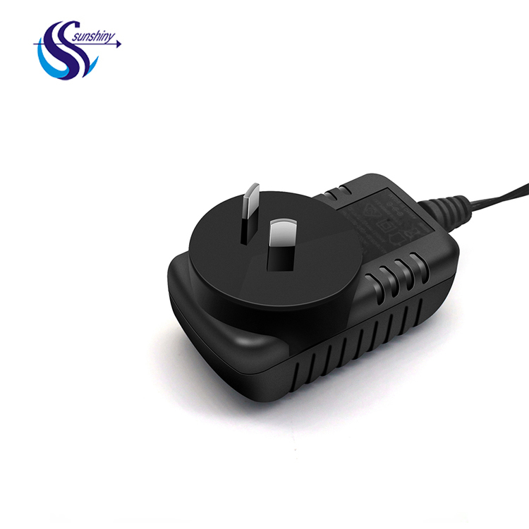 SAA C-TICK RCM certificate 5V 12v 1A 2A 1.5A AC DC power adapter with 5 pin micro usb plug for Australia mark