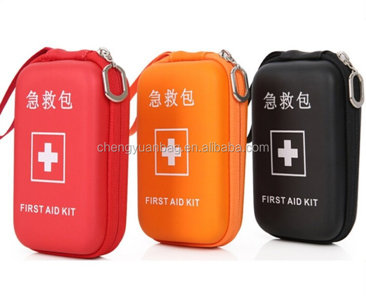 small red case EVA first aid kit with cheap price