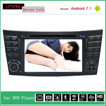 LPYFRG C600 car dvd gps stereo for Mercedes Benz android 7.1