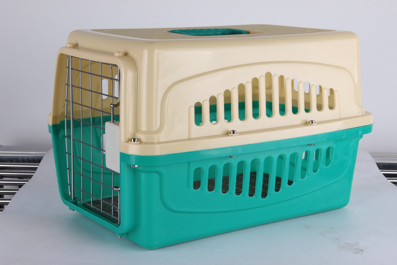 Airline approved travel plastic dog cage, dog kennel, dog crate