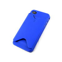Wholesale PC Card Holder Cell Phone Case for iPhone 4/4S