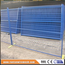 ISO certificated high quality canada standard temporary fence construction site temporary fencing