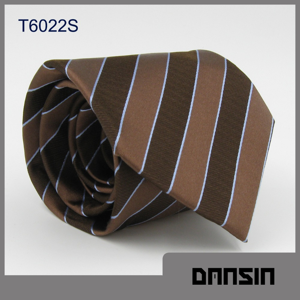 High Quality New arrival Standard Silk Gold Ties