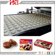 HG200 factory price full automatic complete chocolate sandwich pie making machine