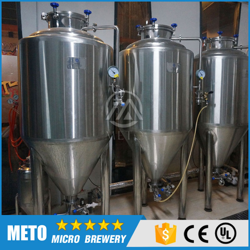 Hot sale , bar/ hotel home beer brewing equipment ,mini 100l beer brewery system form gold supplier