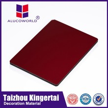 Alucoworld China leading marble finish aluminum composite panel/stone look wall panelling with good reputation