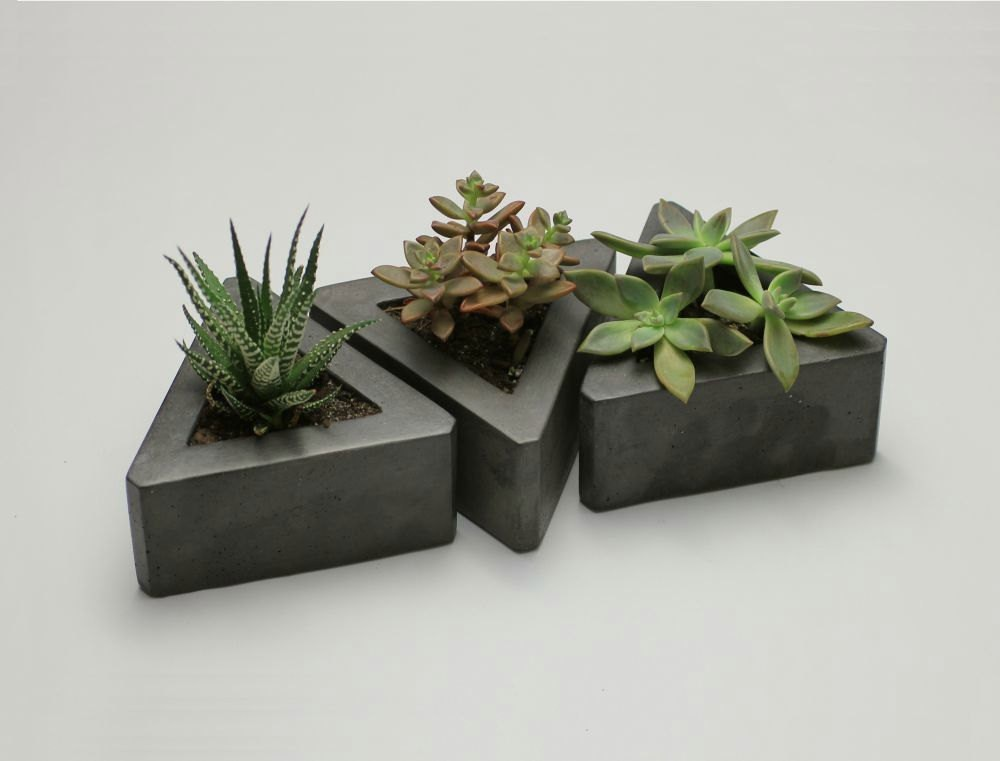 square garden pots and planters