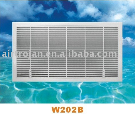 ABS Plastic Return Air Grille