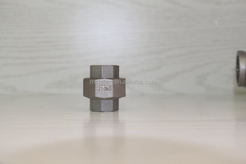 din 2990 ss304 stainless steel female welded hexagon pipe nipple