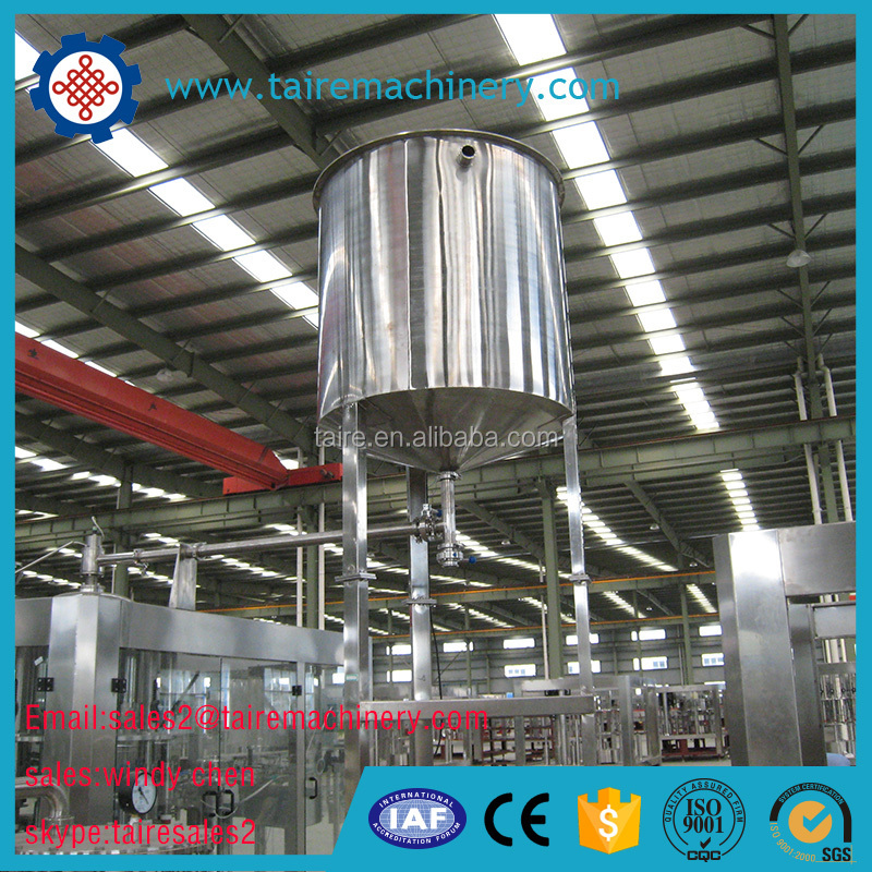 zhangjiagang Taire Fruit juice bottle Filling Machine (3 in 1 ) filling machine