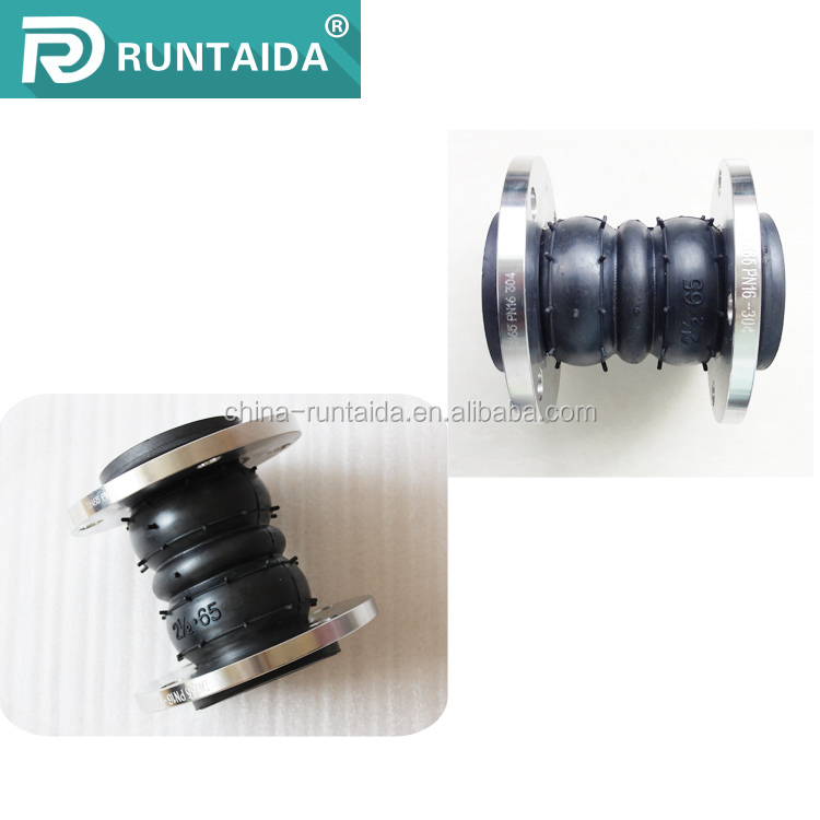 Tariff concessions galvanized double sphere screwed rubber expansion joints