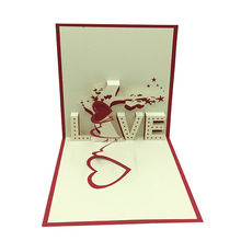 Cheap laser cut cards wedding card,Chinese factory 3D card