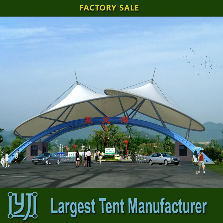 2016 stadium tent membrane structure Imported/Homemade PVDF,PTFE,ETFE
