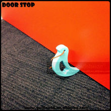 Novelty Funny bird shaped Convenient Silicone Door Stops