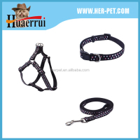High Quality Dog Collar And Leash With Plastic Buckle