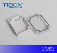 Beautiful, high quality, small plastic junction box for electrical industry, ABS or PC material