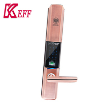 Rfid china latest style password intelligent finger fingerprint lock with handle