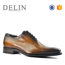 Customizable handmade men leather genuine shoes