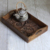 Beautiful engraving waterproof wooden tea serving tray