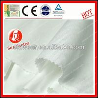 Flame Retardant Antimicrobial check fabric school uniform