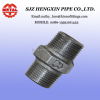 malleable iron pipe fittings&&nipple