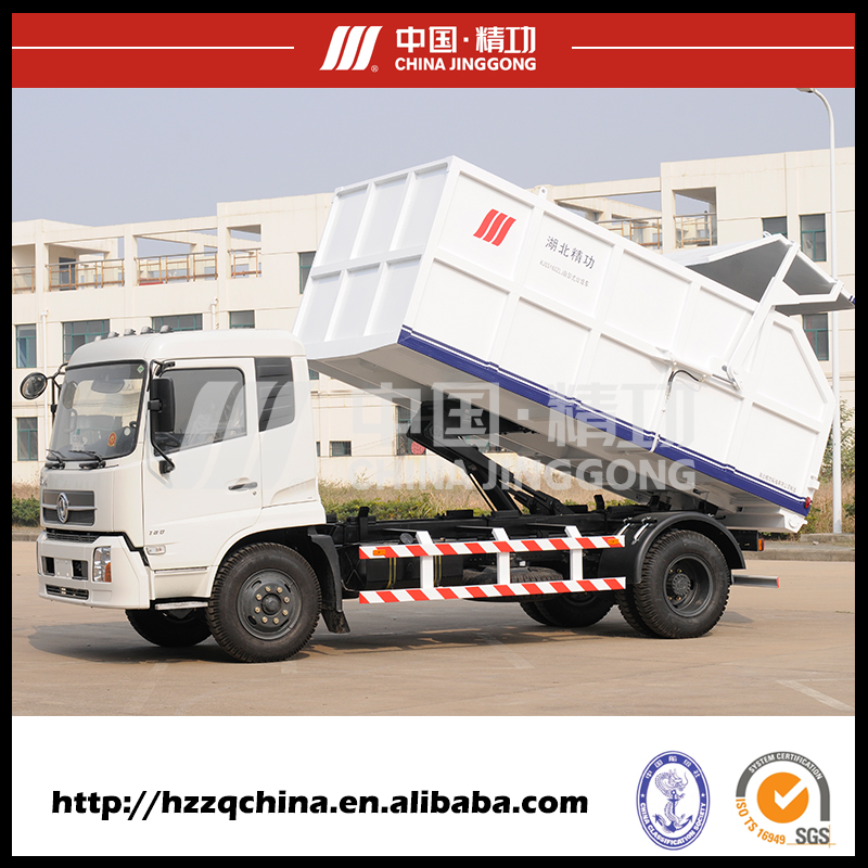 ISO Approved Hot sale 16T small garbage dump truck for Myanma