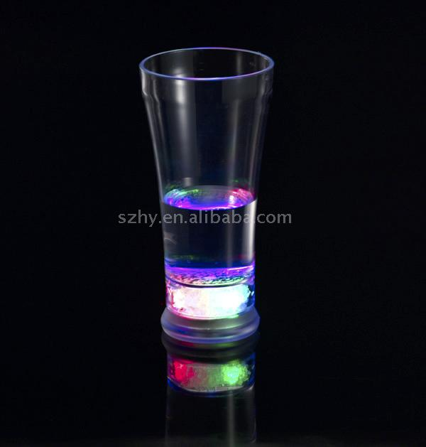led plastic ice cups