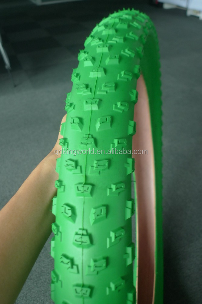 26*4.0 Full Color Fat Bicycle Tire, 24*40 off road bicycle tire