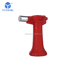 YZ-815 Manufacture Direct Dealing Plastic Skin Portable Jet Flame Culinary Cooking Kitchen Creme Brulee Torch
