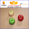 Yiwu Diy craft for kids artificial fruit for decoration/Fake red apple for sale