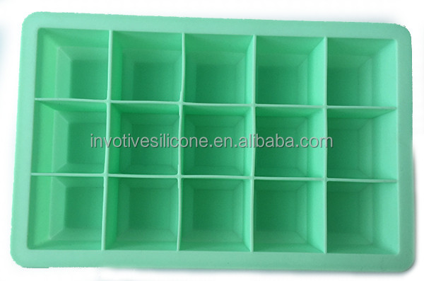 SEDEX menber silicone ice cube trays with custom logo