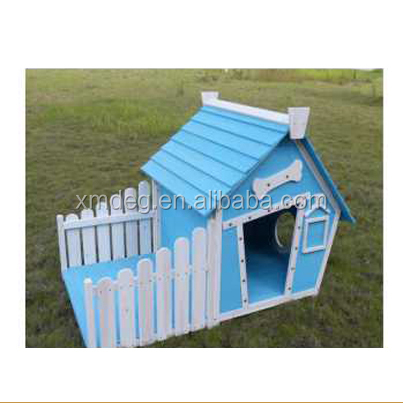 Luxurious Quality wood dog kennel Water Based Paint Dog House