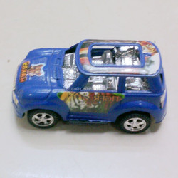 Cool blue mini toy car for kids