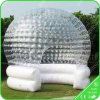 inflatable transparent tent