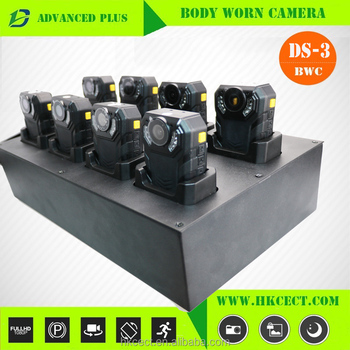 2017 Latest Smart 8 bay multi-languages docking station body worn camera police docking station with data management software