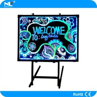 Ultra-thin LED Flashing Display Writing Board display soft board