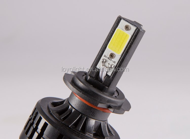 12v led headlight H7 3600lm cob daymaker led light headlight assembly led