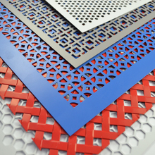 decorative perforated metal panels galvanized/stainless/aluminum/brass