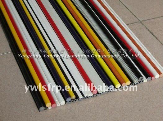 Attractive Pultrusion Angle Solid Fiberglass Rods