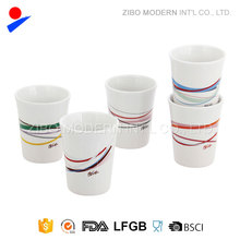 Mini Sublimation White Ceramic Mug No Handle