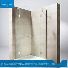 China Fashionable custom design smart tempered glass shower door in many style