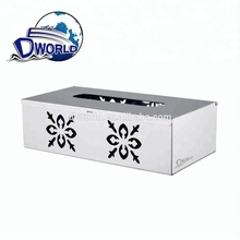 201 Stainless Steel Washroom Wet Toilet Paper Towel Dispenser with flower