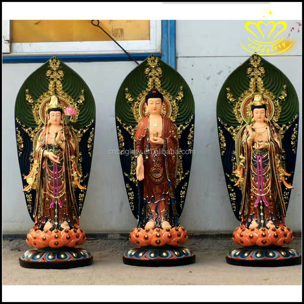 Lord Buddha bronze Sculpture of Hindu Gods Figurines Sculptures