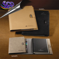 A5 PU Leather Notebook With Elastic