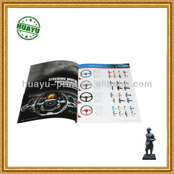 Car Product catalogue /brochure/magazine printing
