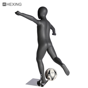 Teenager Sports Mannequin Playing Football Child Young Models